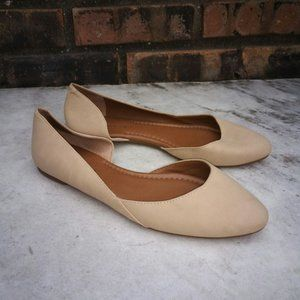 Lucky Brand Shoes Abia beige round toe flats